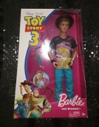Mattel Rare Disney Toy Story 3 Barbie Loves Ken Doll With Key Chain Accessories