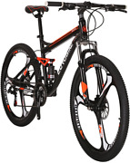 Moutain Bike S7 Bicycle 21 Speed Mtb 27.5 Inches Wheels Dual Suspension Bike