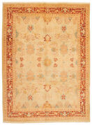 Hand-knotted Carpet 10and0391 X 13and0396 Peshawar Finest Traditional Wool Rug