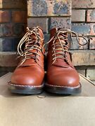 Nicks Boots 'robert Boot' Wickett And Craig's Veg Tanned Size Us 8d, Made In Usa