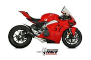 Exhaust Silencer Mivv Ducati Panigale V4 2018/2021 System Complete Carbon