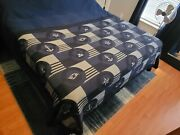 Disney Cruise Line Dcl Stateroom Throw Blanket Prop Blue