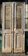19th Century French Provincial Antique Iron And Wood Doors