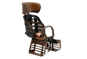 New Ogk Bicycle Bike Child Deluxe Seats With Headrest Rbc-007dx3 Black/brown