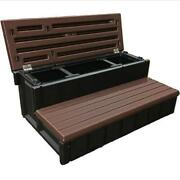 Spa Storage Step By Confer - Step With Storage Compartment