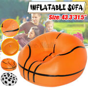 Inflatable Chair Lazy Sofa Blow Up Seat Gaming Lounger Couch Outdoor Camping