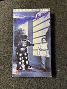 The Invisible Boy Vhs 1993 Oop Rare Forbidden Planet Sequel Robby Robot Cult Htf