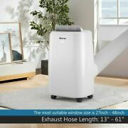 1 2000 Btu Portable Air Conditioner Multifunctional Air Cooler With Remote-white