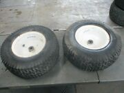 Craftsman Gt5000  Pair Set Front Wheels And Tires 16x6.50-8