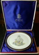 Limited Edward Marshall Boehm Young America 1776 Bald Eagle Porcelain Plate