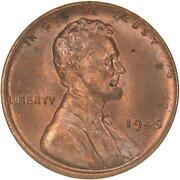 1945 S Lincoln Wheat Cent Uncirculated Penny Us Coin