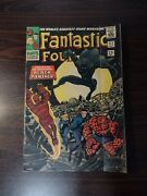 Fantastic Four 52 First Appearance Of Black Panther Marvel Comics Silver Age