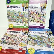 Vtech Touch And Learn Activity Desk Deluxe Expansion Pack 34 Pages Pre-k - K