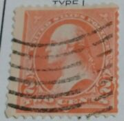 Rare Us Postage Stamp George Washington Two Cent Stamp 2andcent Pink Stamp