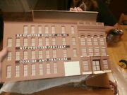 Todd Architectural Model O-scale Building Front W/ Led Light-d.f. Stauffer Bisc