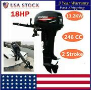 13.2kw 2 Stroke ⭐ 18hp ⭐⭐outboard Motor ⭐⭐water Cooling Inflatable Fishing Boat