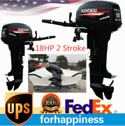 18hp 2stroke Outboard Motor Engine Fishing Boat Cdi Water Cooling System 13.2kw