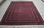8and0396 X 11and0393 High Quality Hand Knotted Afghan Khawaja Roshnai Area Rug 100 Wool