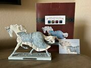 Winter Ballet, Trail Of Painted Ponies, Rare, Low Edition 1e/0060 Horse Figurine