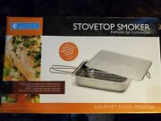 Stovetop Smoker The Original Camerons Gourmet Stainless Steel Smoker New In Box