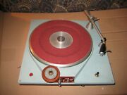 Vintage Russco Cue Master Record Player Broadcast Turntable