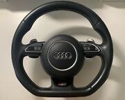 Audi S3 8v Flat Bottom Steering Wheel And A