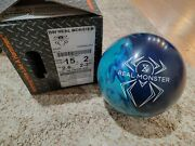 Hammer Black Widow Real Monster Rare Overseas 1st Quality Bowling Ball 15 Pounds