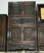 30 Old Chinese Huanghuali Wood Bat Drawer Cupboard Cabinet Classical Furniture