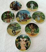 Complete Set Of 8 Knowles Wizard Of Oz Collector Plates. 0292