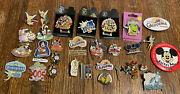 Disney Pins Huge Lot Assorted Buttons And Pins