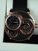 Rare Gv2 Gevril Macchina Del Tempo Limited Edition Rose Gold Luxury Watch Nrfb