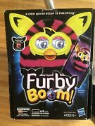 New And Sealed Furby Boom 2013 Hasbro Straight Stripes Free Fast Shipping