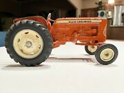 Antique Allis-chalmers Metal Toy Tractor