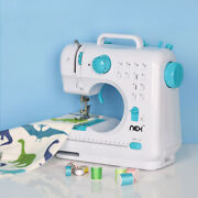 Multi Crafting Mending Sergers Machine 12 Built-in Stitches And Double Thread