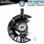 Front Wheel Bearing And Hub Assembly With Knuckle Lh For Corolla Matrix New