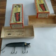 Heddon Vamp Spook 9750 Xbw With Lure 9750xrs Box Only.