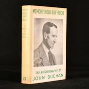 1964 Memory Hold-the-door The Autobiography Of John Buchan Early Edition Illu...
