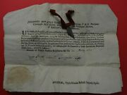 Relicario Reliquary Relic Holy Lance Spear Longino Of Jesus With Document 1770