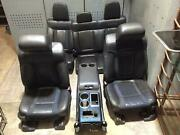 2012-2014 Ford F150 Raptor Front And Rear Seat Set Bucket Leather Cloth Oem