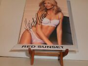 Autographed Heidi Klum  Signed 8x10 Color Photo Super Sexy And Hot