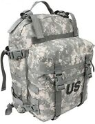 Army Acu Assault Pack Molle Ii Us Military Surplus Camo 3 Day Backpack Camping