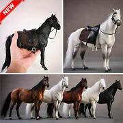Germany Hannover Horse Hanoverian Model 1/12 Animal Figure Scale 21cm Statue New