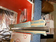 Nos 1965 Impala Lower Rear End Panel Molding And Nos Corners..