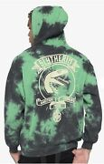 Sold Out Tie Dye Harry Potter Hogwarts House Crest Hoodie Slytherin Nwt L