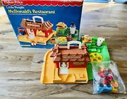 Mcdonald's Fisher Price Little People Vintage Playset Unused Sealed Contents