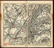 Rand Mcnally Cadillac Tours Antique Travel Road Maps Owner's Road Guide