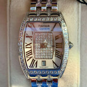 Fabrique Geneve Divinity Swiss Watch 190 Sapphire Crystals