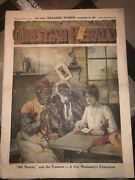 Ex Slaves Being Read The Bible By Traveling Christian Lady1903 Christian Herald