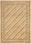 Modern Hand-knotted Carpet 9and0397 X 13and0393 Cream Wool Area Rug