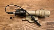 Surefire M952v-tn Light W/ Ir And M93 Mount And Pressure Switch
